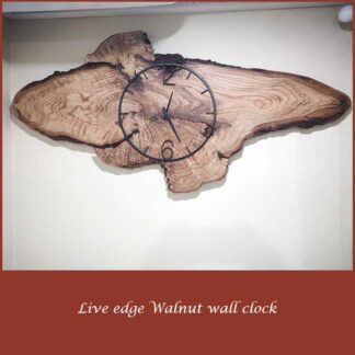 Walnut wall Clock