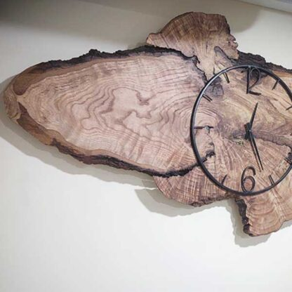 Rustic and More Walnut wall Clock