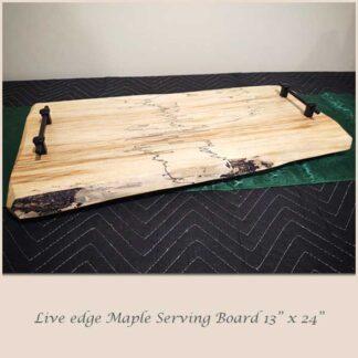 Maple Serving Board 13 x 24