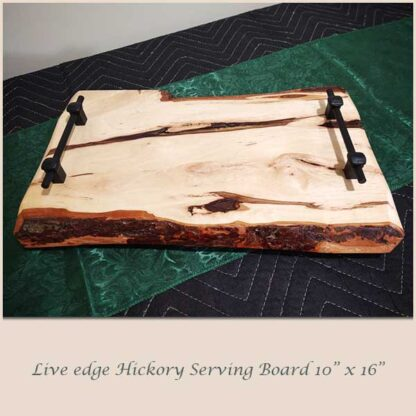 Hickory Serving Board 10 x 16