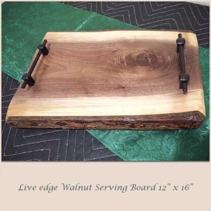 Walnut Serving Board 12 x 16