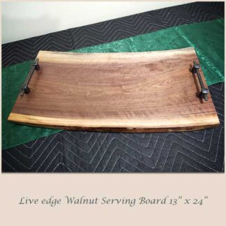 Walnut Serving Board 13 x 24