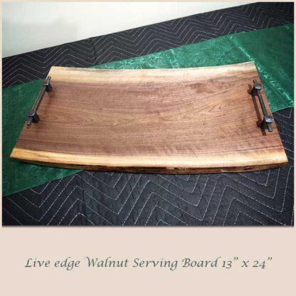 Walnut Serving Board 13 x 24